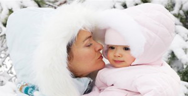 bebelus iarna