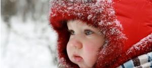 bebelusul iarna