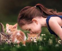 Copiii si animalele de companie