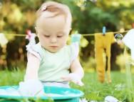 Spalarea hainelor bebelusului